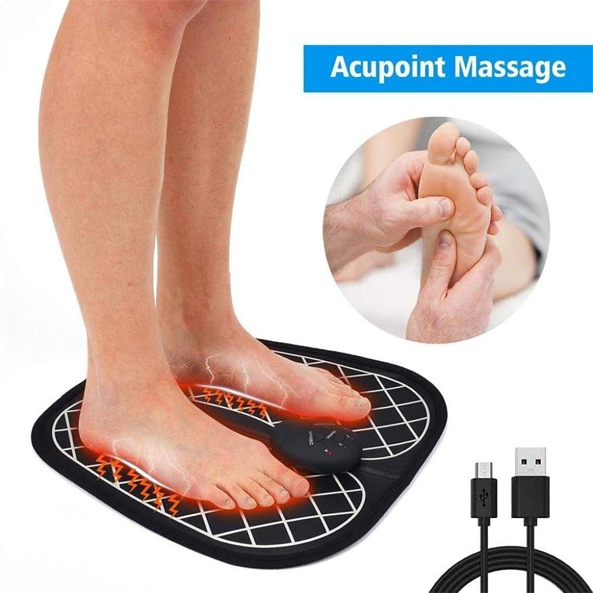 松業界句フットマッサージャー-インテリジェントなフットマッサージパッド、筋肉をリラックスさせ、痛みを和らげ、持ち運びが簡単な自動フット振動マッサージ機
