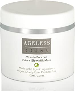 Ageless Derma Milk Face Mask by Dr. Mostamand is An Exfoliating and Hydrating Facial Mask for a a Sofer and Plump Skin
