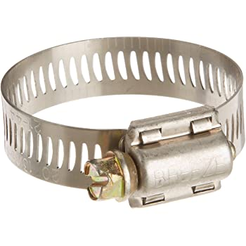 Worm-Drive Breeze 63036H Marine Grade Power-Seal Stainless Steel Hose Clamp Pack of 10 SAE Size 36 1//2 Band Width 1-13//16 to 2-3//4 Diameter Range