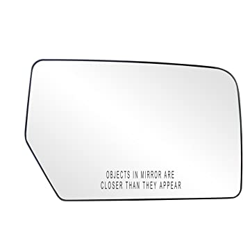 New Convex Passenger Side Replacement Mirror Glass For 2018-2019 Ford Expedition