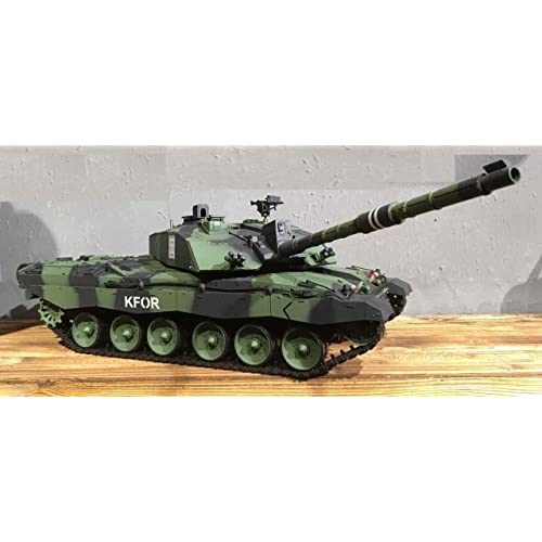 8d72cff03f21 Heng Long Challenger 2 RC British 1 16 2.4G MBT Tank NATO Green with 2  sounds switch able Big Boyz®  Amazon.co.uk  Toys   Games
