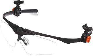 OTOS ヘルメット装着式 保護メガネ クリア Aタイプ A-645A-A