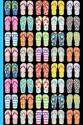 Flip Flops Galore : College Ruled Notebook