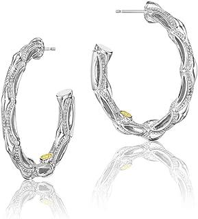 SE130 Classic Rock hoop-earring 925 sterling-silver