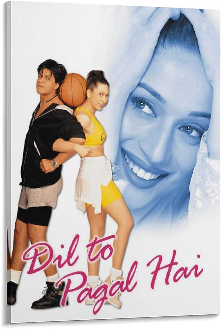 Dil To Pagal Hai Fashionable 1997 Movie W Posters Aesthetics Office Pi6 Atlanta Mall Home