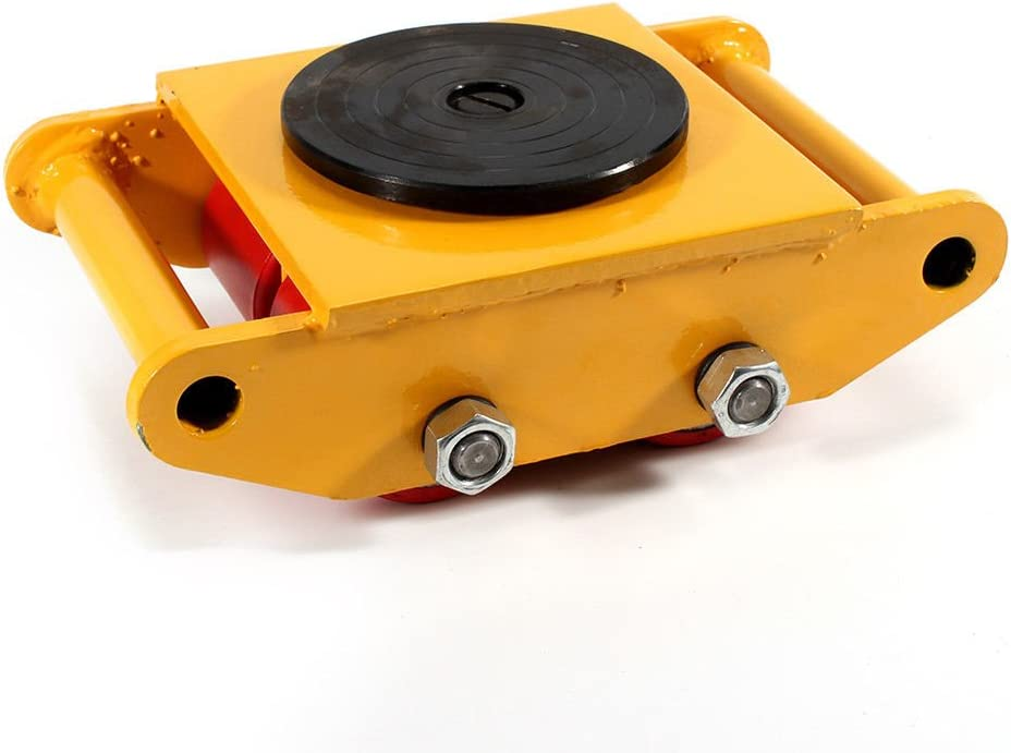 6 Ton Machinery Mover 360 Degree Cap M Shipping included Rotation Industrial Dolly Now free shipping