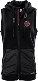 Levelwear LEY9R NCAA Womens Iris Banner Stripe Full Zip Hooded Vest