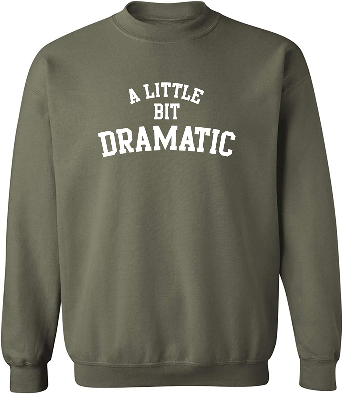 zerogravitee A Little Bit Dramatic Crewneck Sweatshirt