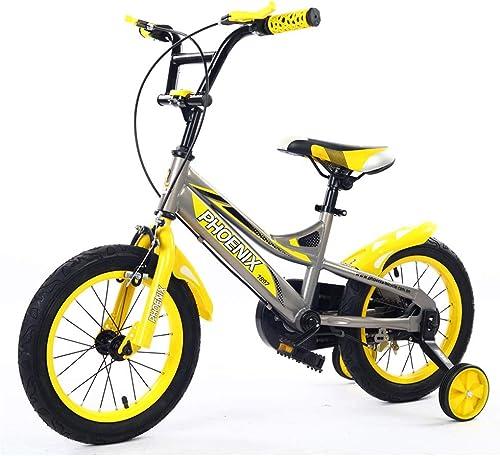 Kinderfürr r fürradfürrad des Kursteilnehmerfürrades einteilig, Geburtstagsgeschenk (Farbe   Gelb, Größe   14inches)