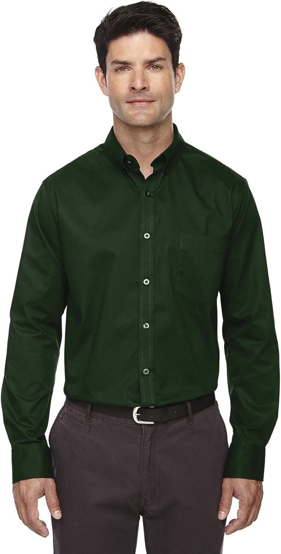 Core 365 Mens OperateLong Sleeve Twill Shirts (88193)