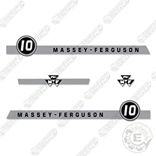 Massey Ferguson 10 Tractor Decal Kit