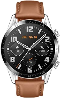 HUAWEI Watch GT 2, 2 Week Battery Life, 15 Workout Modes & Full-time Fitness Trainer, 46mm with an additional strap in box...