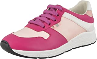 Gucci Girl's Satin Leather Sneakers Shoes