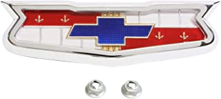 Trim Parts 2091 Full Size Trunk Emblem Assembly (1960 Chevrolet 283 V-8)