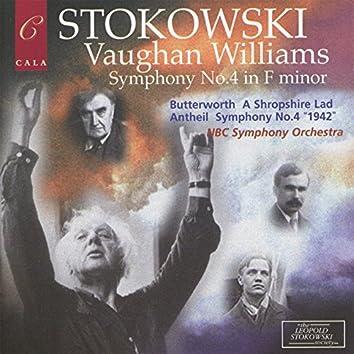 Leopold Stokowski Conducts Vaughan Williams, Butterworth & Antheil
