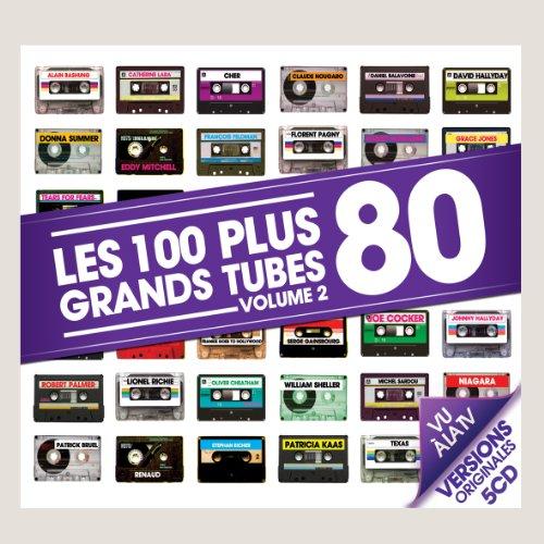 Les 100 Plus Grands Tubes 80 /Vol.2 (Coffret 5 CD)