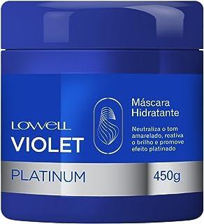Mascara Violet Platinum, Lowell, 450g