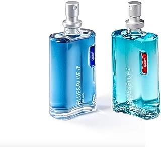 Blue & Blue For Her Eau de Parfum 2.5 fl. oz.and Blue & Blue for Him Eau de Toilette 2.5 fl. oz. Set by Cyzone