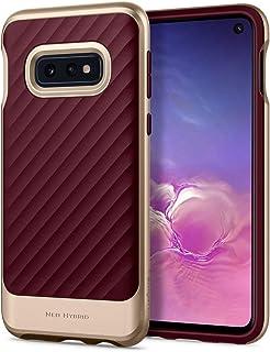 Spigen Neo Hybrid Designed for Galaxy S10e Case Cover (2019) - Burgundy