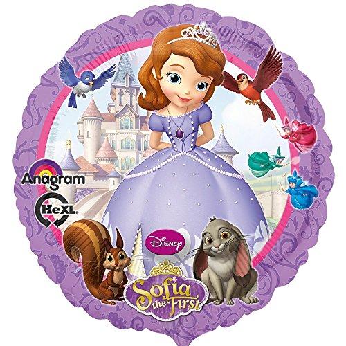 GUIZMAX Ballon Princesse Sofia hélium Disney Fête Enfant