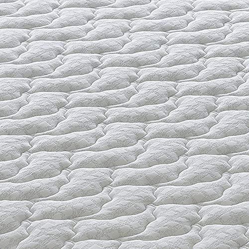 Materassiedoghe - Materasso Piazza e Mezza a Molle indipendenti insacchettate Alto 29 cm con 7 cm di Memory a 9 Zone differenziate - Ergonomico - Antibatterico - Elastico e Indeformabile (120x190)