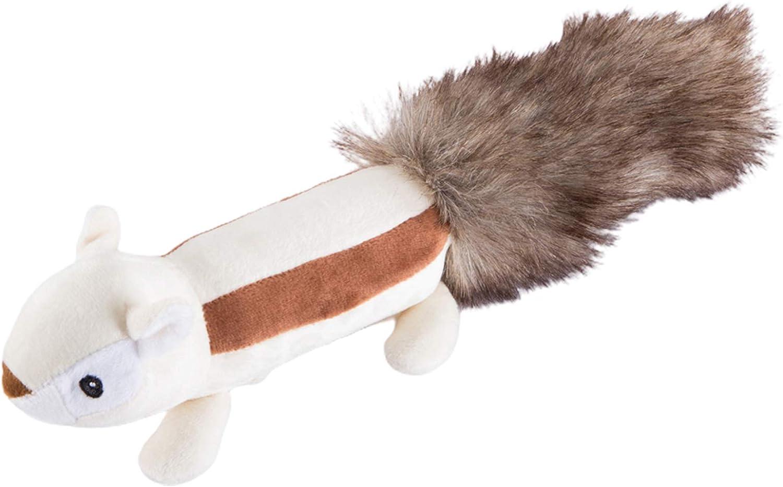Over item handling NUZYZ Pet Genuine Molar Plush Dog Toy Toys Interactive Squeaky Puppy