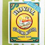 Royal Gelatina sin Sabor - 2 Unidades: Amazon.es ...