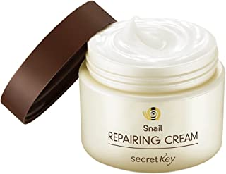 [SECRET KEY] Snail Repairing Cream 1.69 fl.oz. (50g) - All In One Recovery Power For The Most Effective Korean Beauty Routine, Relives Skin Troubles and Hydrating Facial Day & Night Cream