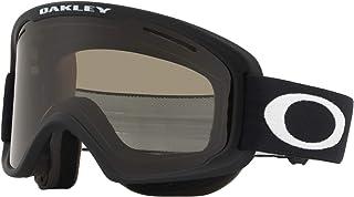 Oakley O Frame 2.0 滑雪护目镜,哑光黑色,中号,深灰色镜片