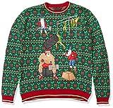 Crossfit Santa und Elfen Weihnachtspullover