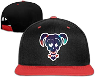 Kid's Funny DC Harley Quinn Adjustable Snapback Hip-hop Baseball Cap