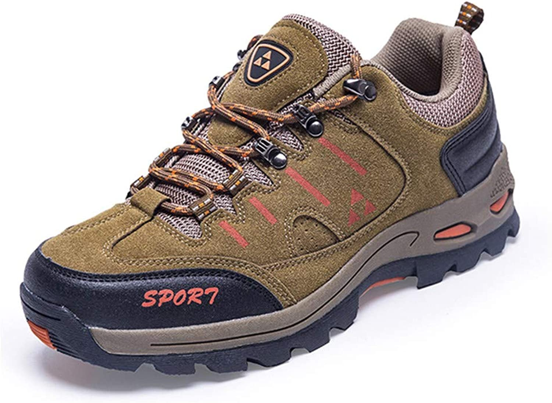 Wanderschuhe Atmungsaktiv Trekking Schuhe Schuhe Herren Sports Outdoor Anti-Rutsch-Sohle Hiking Stiefel Woman Trekking Wanderhalbschuhe Turnschuhe braun-45  Verkauf Online-Rabatt