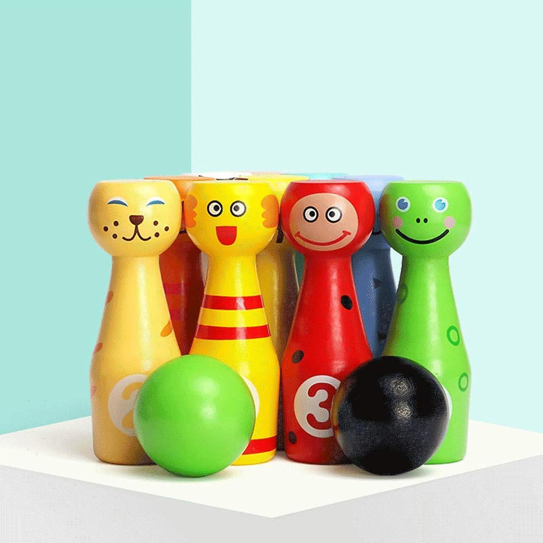Little Toys Bowling Indoor und Outdoor Kinder intellektuelle Entwicklung von Eltern-Kind-Interaktion Frühkindliche pdagogische Baby Ball Jungen und Mdchen Spielzeug (gre   B)