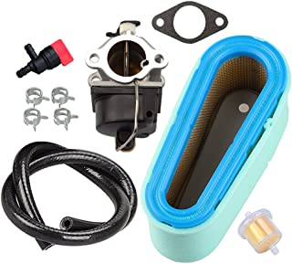 Panari Carburetor + Tune Up Kit 36356 36357 Air Filter Gasket for Tecumseh 640065A 640065 OHV125 OHV130 OVH135 OHV110 OHV115 OHV120 OV358EA Lawn Mower