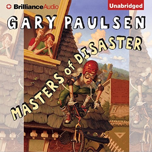 Masters of Disaster audiobook cover art
