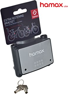Hamax Lockable Fastening Bracket for Rear Child Bike Seat – Perfect for Second Bike