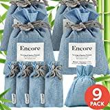 hole house air freshener - Bamboo Charcoal Air Purifying Bag (9 Pack + 3 Dehumidifier Bags) — Activated Charcoal Odor Absorber for Car, Closet, Gym Bag — Acts as Closet Deodorizer & Car Deodorizer — Includes Dehumidifer Bags