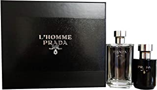 PRADA Milano L'Homme Asb Set For Men - Edt 100 ml + 125 ml