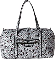 Vera Bradley Luggage Women's Iconic Large Travel Duffel Playful Penguins Gray One Size