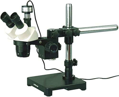 descuento de ventas en línea AmScope SW-3T13Z-PB 10 x x x 20 x 30 x 60 x Microscopio Est-reo En Boom montaje de c-mara Digital Plus  popular