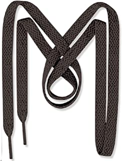 Men's Flat Dress Shoe laces 2 Pair Pack- Dress Shoelaces - Made in the USA