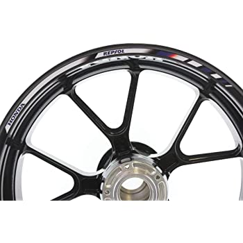 SpecialGP color-matched adhesive rim-striping wheel rim pin stripe pinstriping tape sticker decals for Honda CBR 1000RR Fireblade 17-inch wheels