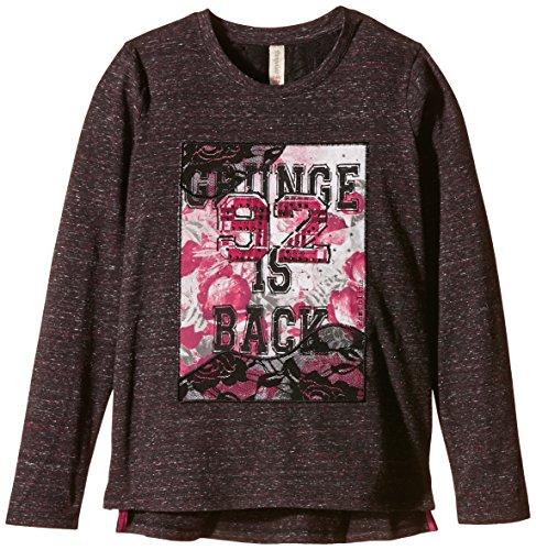 Pampolina Mädchen T-Shirt T-Shirt 1/1 Sleeves, Grau (Grey), 116 (Herstellergröße: 6 Jahre)