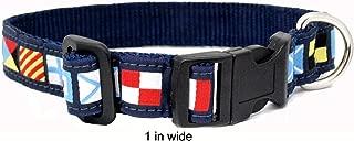 Skippers Nautical Code Flag Pet Collar