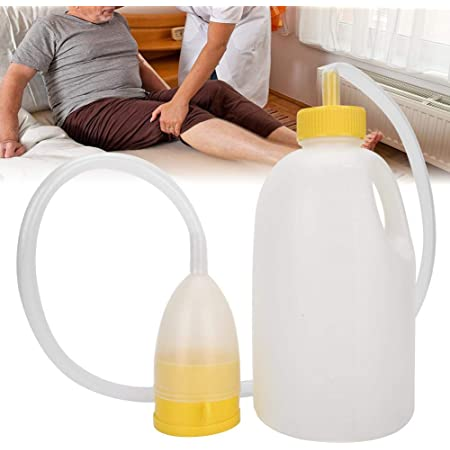 2000ml Male Urinal Urine Bottle Pee Collector for Mobility Aid Travle Aid