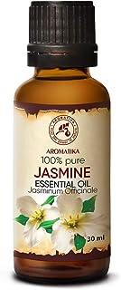 Huile Essentielle de Jasmin - 30ml - Jasminum Officinale - HE Jasmin - Huiles Essentielles Aromathérapie pour Diffuseurs -...