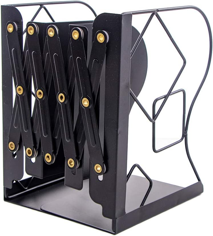 Mail order Vxkbiixxcs-o Bookend Retractable Book Telescopic Selling and selling Stand Support