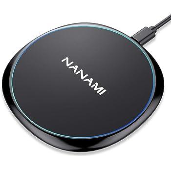 NANAMI Qi急速 ワイヤレス充電器 iPhone 11 Pro/11 XS Max/XS X XR 8 Plus/8 AirPods 2/Pro Galaxy qi対応