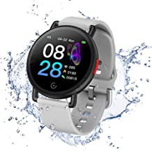 Fitness Tracker Heart Rate Monitor Smart Watch Activity Tracker Pedometer with Sleep Monitor Calorie Counter IP68 Waterpro...