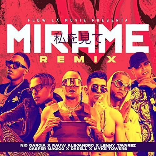 Nio Garcia, Rauw Alejandro & Lenny Tavarez feat. Darell, Myke Towers & Casper Magico